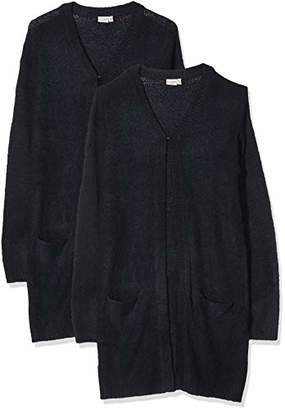 Name It Girl's Nkfvofia Ls Long Knit Card Cardigan,(Manufacturer Size: -164)