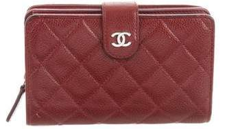 Chanel Quilted French Purse Wallet