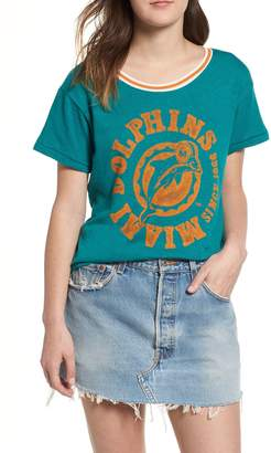 Junk Food Clothing NFL Dolphins Kick Off Tee