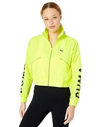Puma Women's Chase Woven Jacket, Black