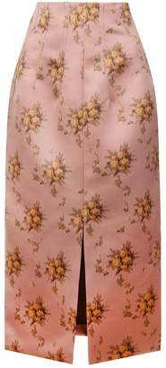 Brock Collection floral skirt