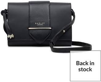 Radley Palace Street Small Crossbody Flapover Bag - Black