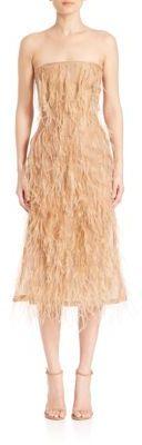 Jason Wu Fringed Silk Dress $2,795 thestylecure.com