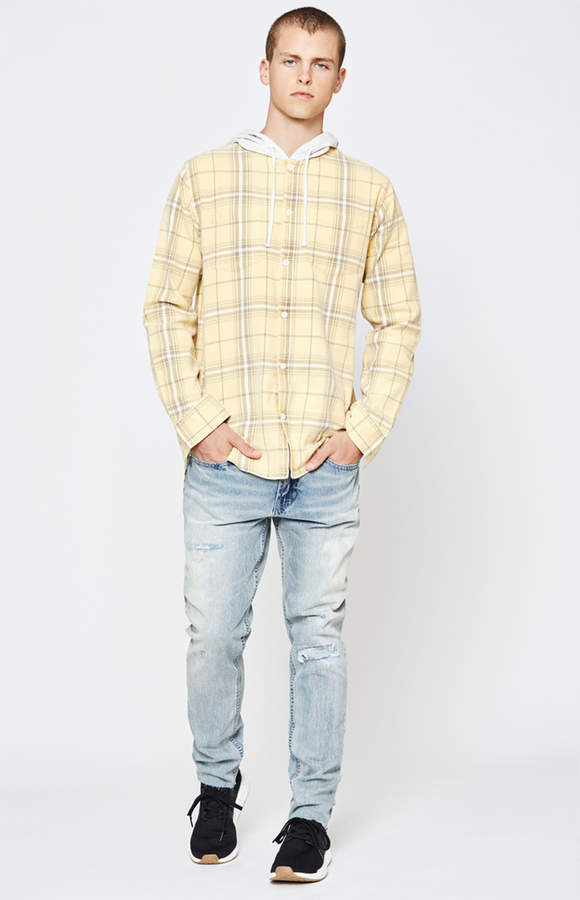 Pacsun Skinny Ripped Light Jeans