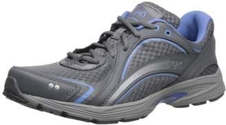 Ryka Women's Sky Walking Shoe, Colony Soft Blue/Chrome Silver