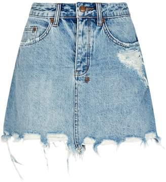 Ksubi Mini Moss Super Freak Skirt