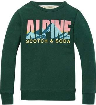 Scotch & Soda Nepped Sweatshirt
