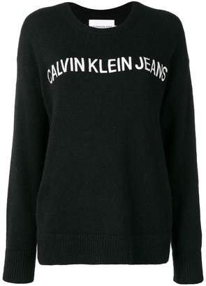 Calvin Klein Jeans alpaca hair knitted sweater