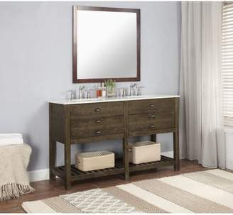 Mercer41 Lafave 2 Drawer 57 Double Bathroom Vanity