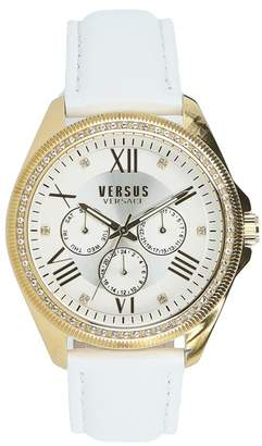 Versace Women's Elmont Swarovski Crystal Accent Watch, 40mm