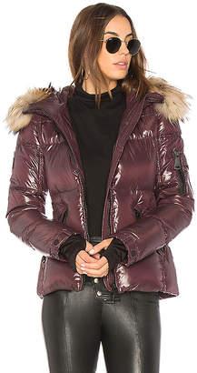 SAM. Blake Puffer Jacket with Raccoon Fur