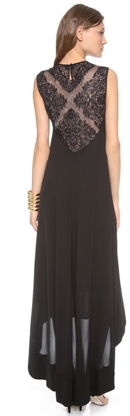 BCBGMAXAZRIA Denisa High Low Dress