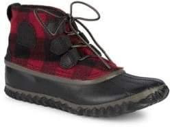 Sorel Plaid Sneaker Boots