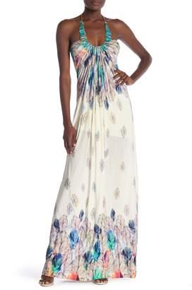 Sky Wacfeld Patterned Maxi Dress
