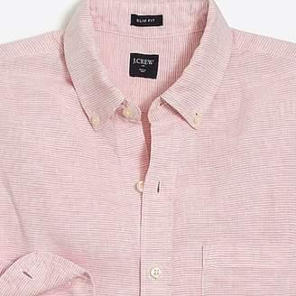 J.Crew Mercantile Slim linen shirt
