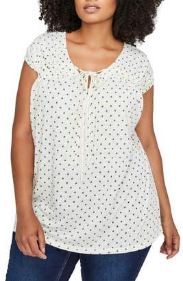 Addition Elle LOVE AND LEGEND Cap Sleeve Swing Top