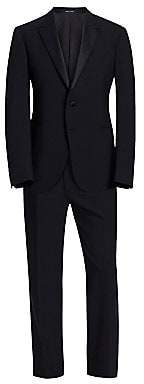 Emporio Armani Men's M Line Stretch Wool Tuxedo