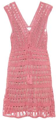 Anna Kosturova Jennifer cotton crochet dress