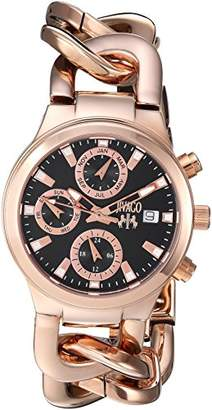 Jivago Women's JV1243 Analog Display Swiss Quartz Rose Gold Watch