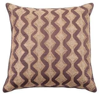Anke Dreschsel Metallic Throw Pillow