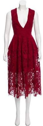 Nicholas Lace Midi Dress w/ Tags
