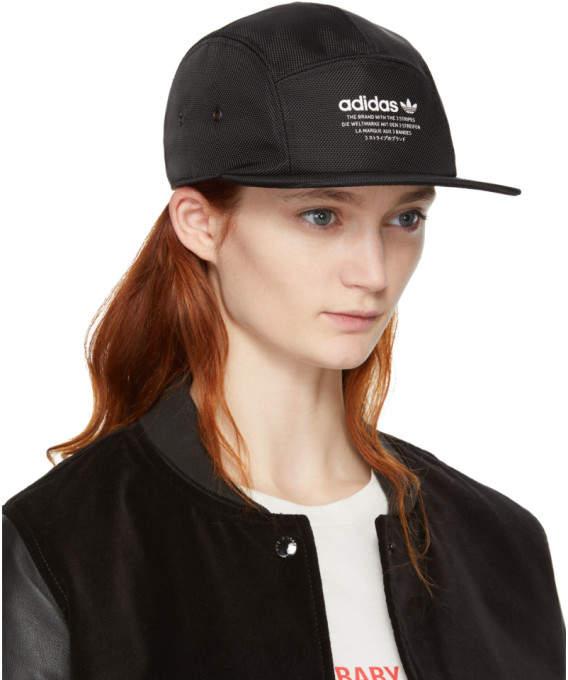 b6986d7116802 adidas Originals Black NMD Running Cap detail image