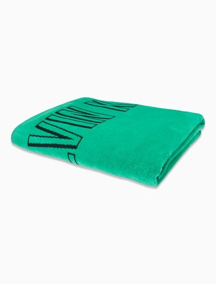 Calvin Klein Intense Power Block Logo Towel