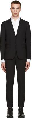 Dsquared2 Black Wool Paris Suit $1,495 thestylecure.com