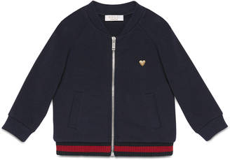 Baby cotton jersey bomber jacket $225 thestylecure.com