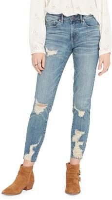 Buffalo David Bitton Faith Retro Mid Rise Skinny Jeans