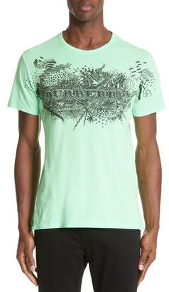 Burberry M Biles Standard Fit Graphic Tee