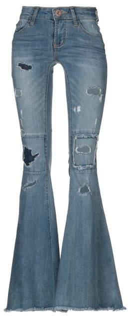 ONE x ONETEASPOON Denim trousers