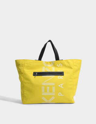 Kenzo Sport Tote Bag in Citron Nylon