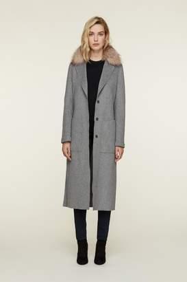 Soia & Kyo Ivonne-Fx Wool Coat