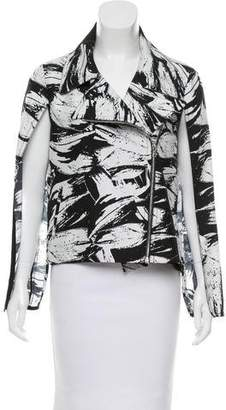 Yigal Azrouel Printed Capped Vest w/ Tags
