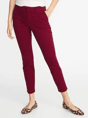 Old Navy Mid-Rise Pixie Utility Chinos for Women