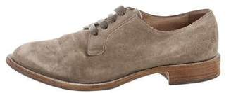 Brunello Cucinelli Suede Oxford Loafers
