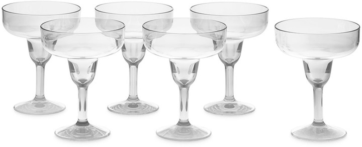 DuraClear® Margarita Glass, Set of 6, Clear