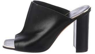 Celine Leather Slide Sandals