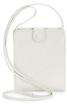 Balenciaga Men's Leather Wallet On Strap