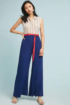 Anthropologie Tracy Reese x Sweet Sailor Jumpsuit