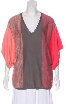 Trina Turk V-Neckline Knit Sweater