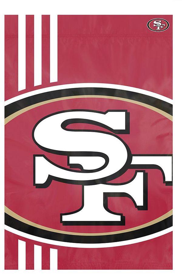 San Francisco 49ers Bold Logo Banner Flag