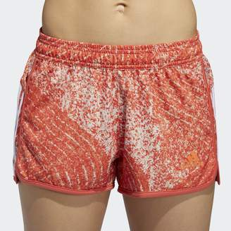 adidas Graphic Print 3 Stripe Shorts