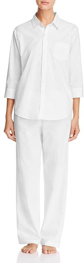 Lauren Ralph LaurenLauren Ralph Lauren His Shirt Three-Quarter Sleeve Pajama Set