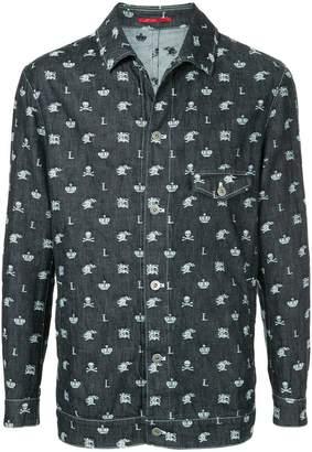 Loveless skull print jacket