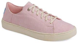 Toms Womens Blossom Slub Chambray Lenox Sneakers