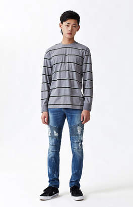 Young & Reckless Sunset Destroyed Moto Skinny Jeans