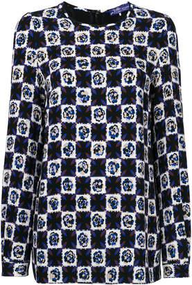 Emilio Pucci printed crew-neck blouse