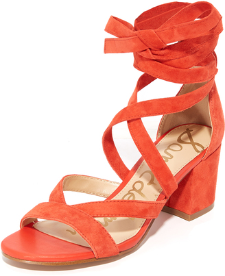 Sam Edelman Sheri Suede City Sandals $120 thestylecure.com